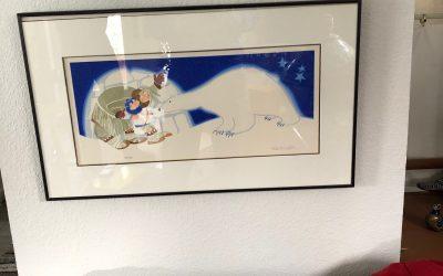 """""""Polar Bear Legend"""" by Rie Munoz"""