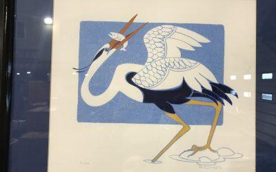 """Crane"" by Rie Munoz"